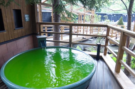 「緑の風リゾートきたゆざわ」森の散歩湯