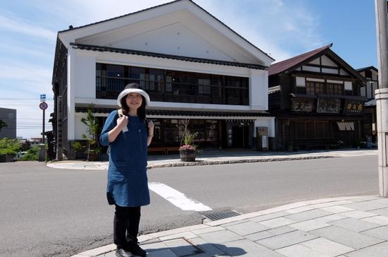 国の重要文化財「江差町旧中村家住宅」外観