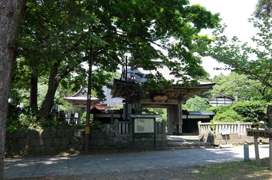 北海道唯一の城郭・松前城のベストアングル