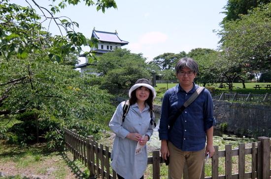北海道唯一の城郭・松前城