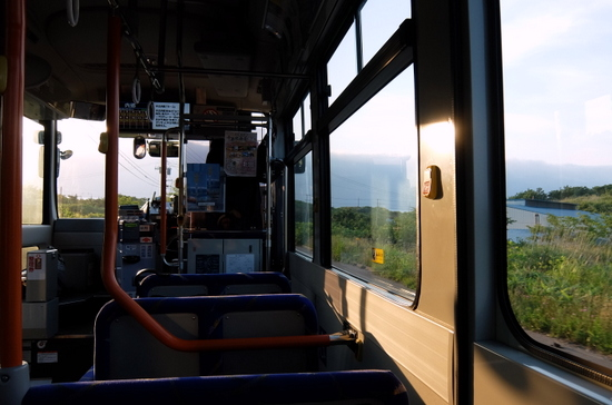 路線バスからの眺め