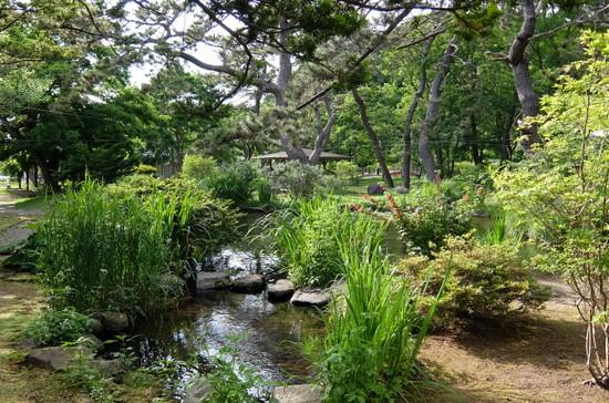 関川家別荘庭