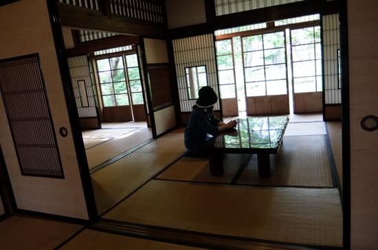 関川家別荘 居間
