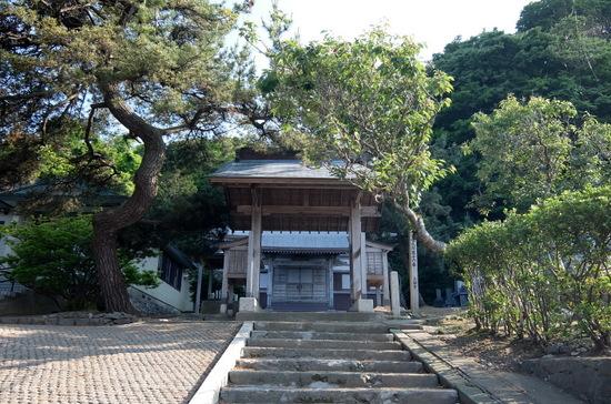 国の重要文化財「上國寺」外観