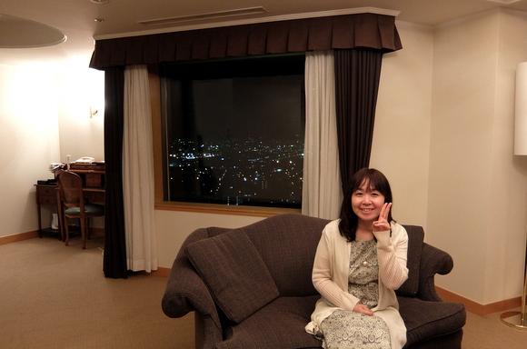 ホテルエミシア札幌 ジュニアスイートでの一枚