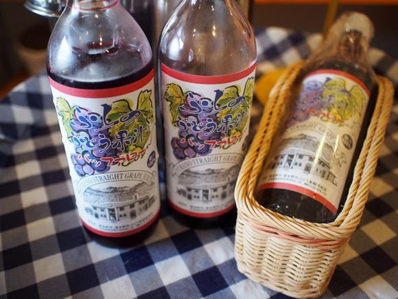 バッファローというブドウの品種を使った濃厚ブドウジュース