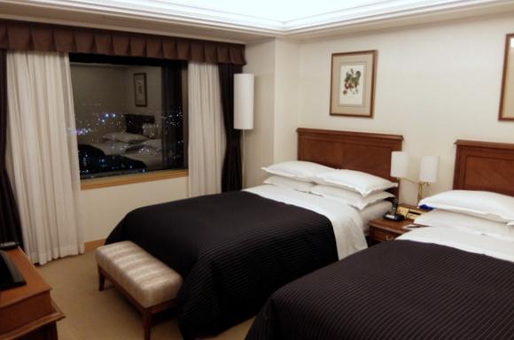 ホテルエミシア札幌 ベッドルーム