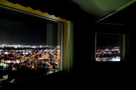 ホテルエミシア札幌からの夜景