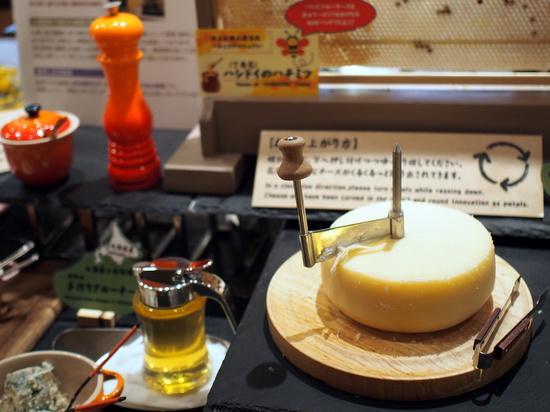 北海道産チーズコーナー
