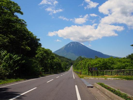 北海道の名峰、羊蹄山