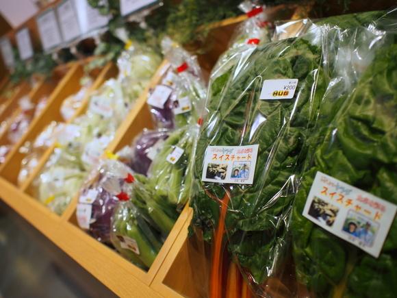 道内各地の野菜や生鮮食品。