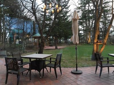 森のスパリゾート 北海道ホテル「バード・ウォッチ・カフェ」