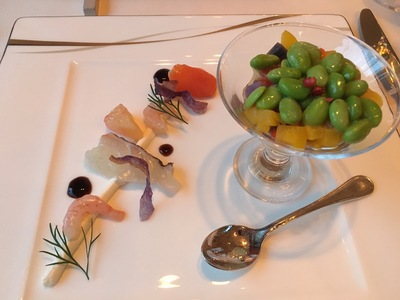 森のスパリゾート 北海道ホテル「バード・ウォッチ・カフェ」コース料理