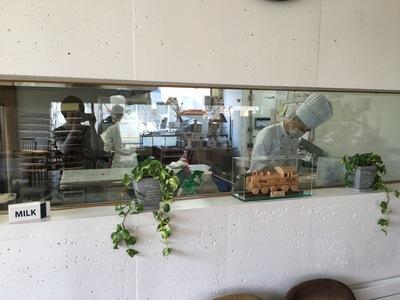 チーズケーキ・お菓子・カフェ『十勝トテッポ工房』カフェ併設のお菓子工房。