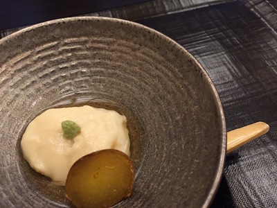 先附の男爵豆腐