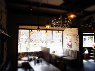 カフェ+36の店内