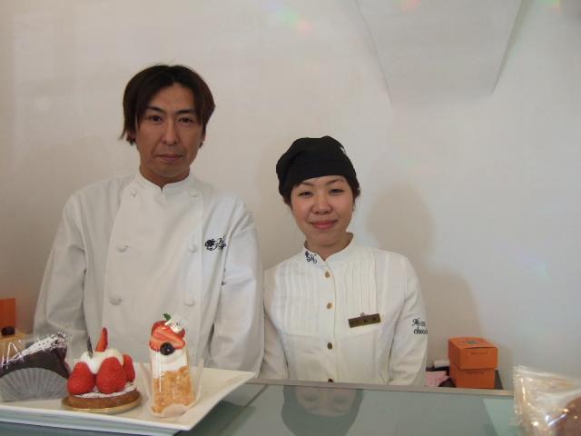 北海道をまかされた下次シェフと、円山店の販売担当・相原さん