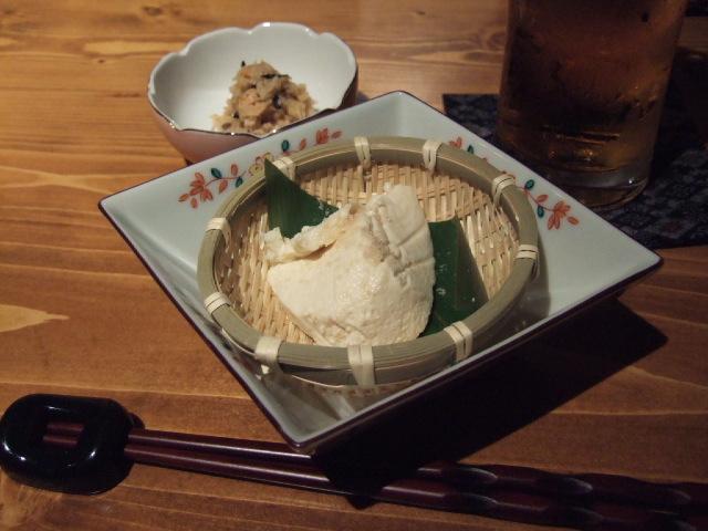 「ほり米(ほりべえ)」寄せ豆腐