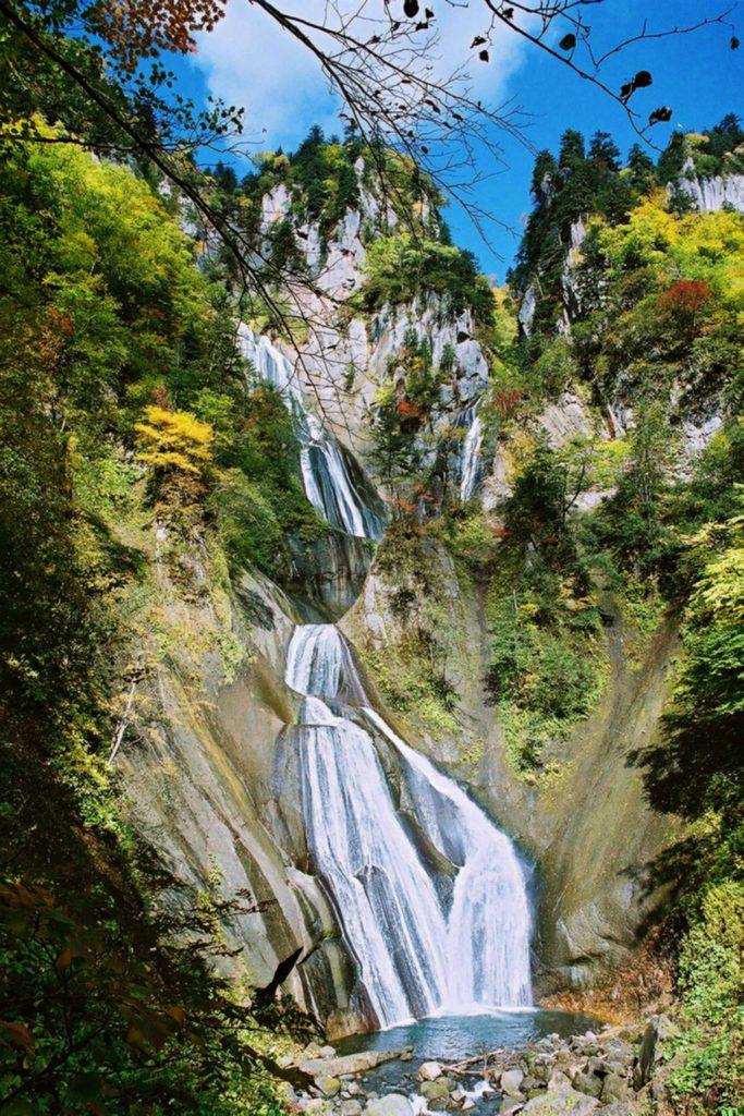 【天人峡温泉】羽衣の滝