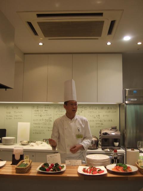 北海道食育コーディネーター 貫田シェフ