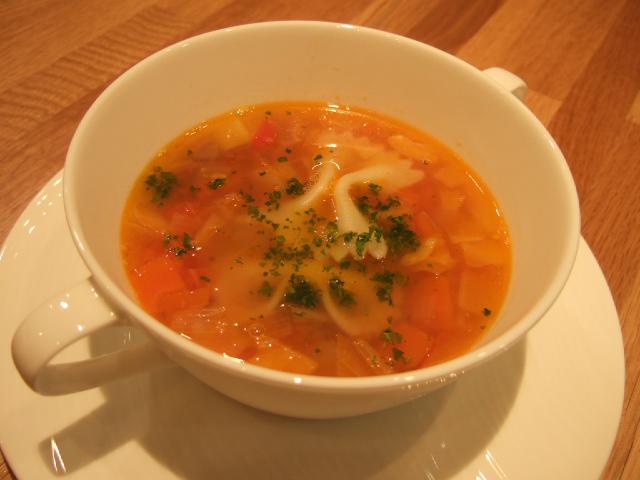 本格野菜スープ