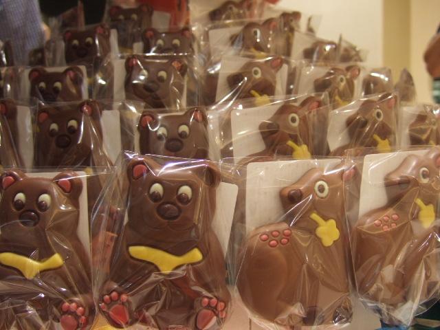 ロイズのチョコレートの数々