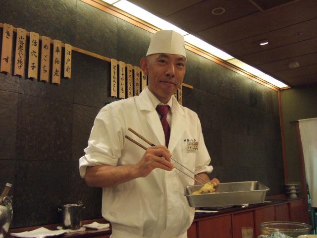調理主任・宇恵(うえ)さん