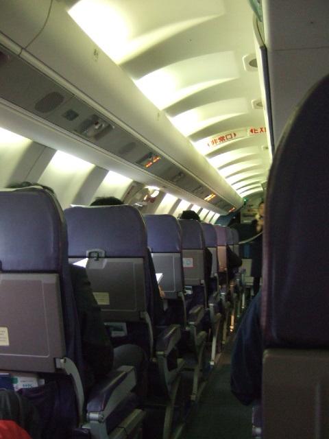 【HAC】機内の様子