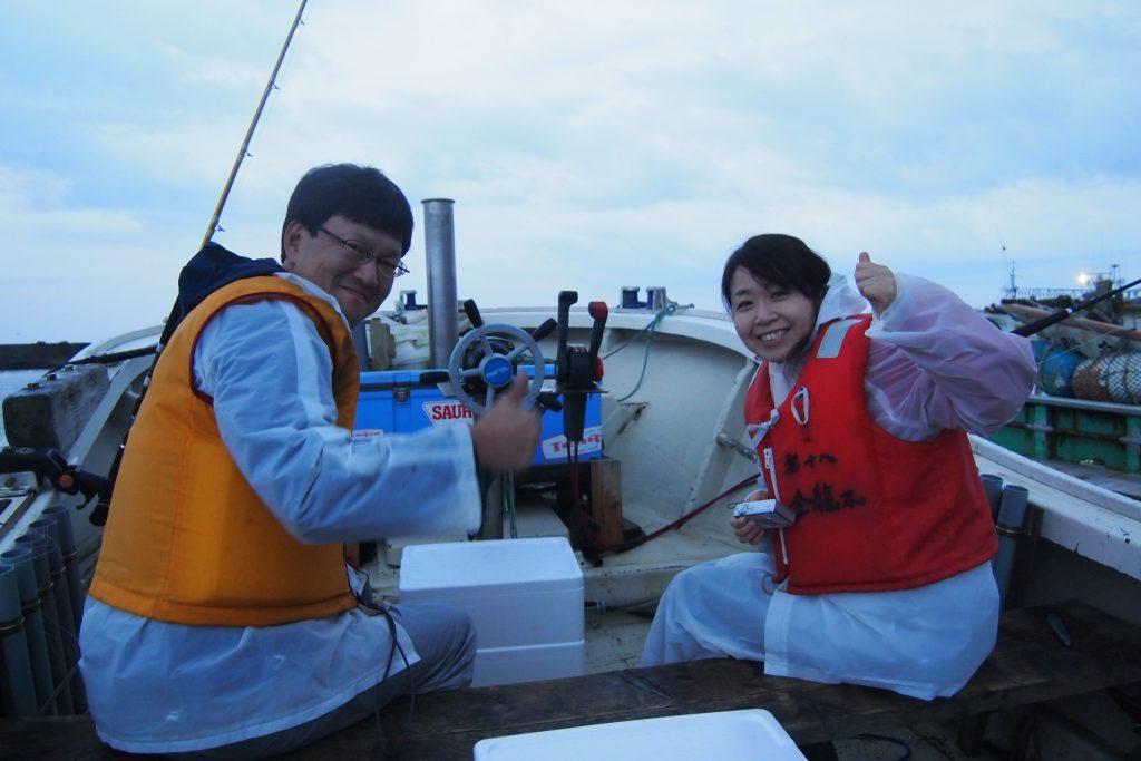 【HAC】函館旅 イカ釣り体験