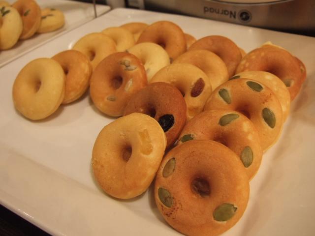 ヘルシー焼きドーナツ
