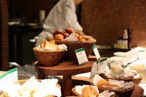 定山渓鶴雅リゾートスパ 森の謌の朝食ビュッフェ