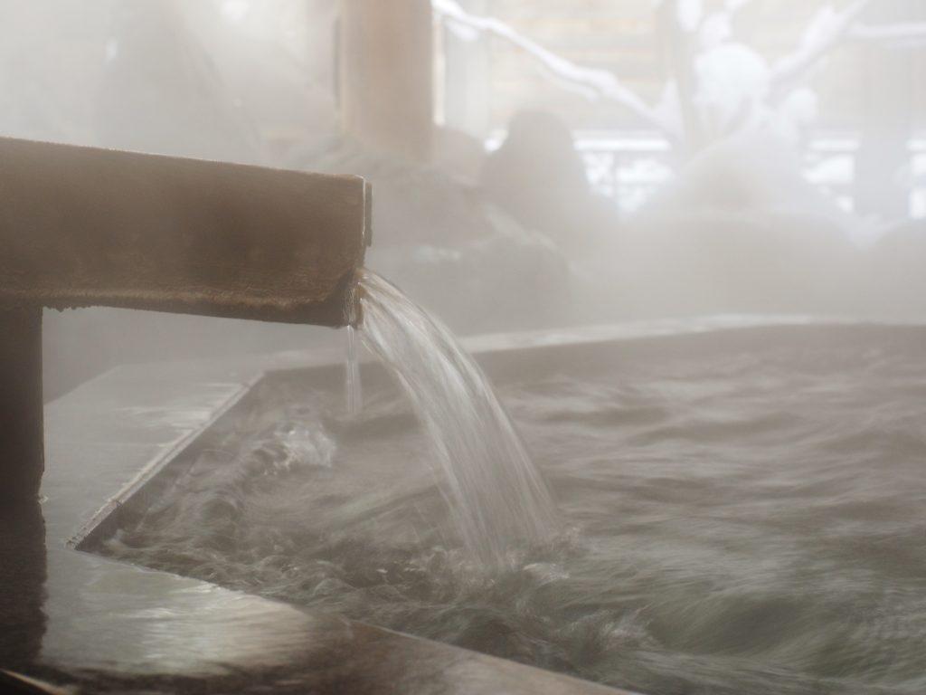 温泉の湯口のイメージ画像