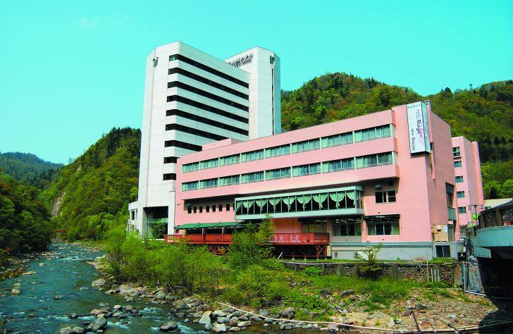定山渓ホテルの外観