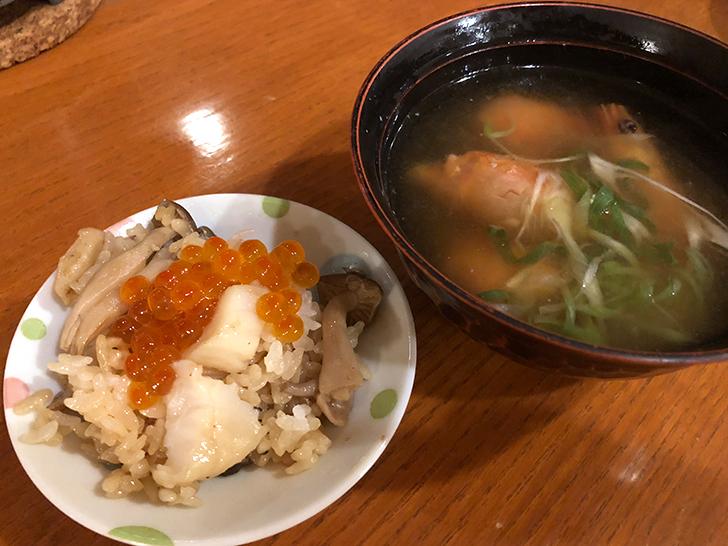 漁火館雑炊が完成!