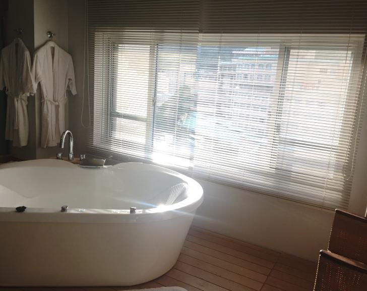 章月グランドホテルのコンフォートスパルーム