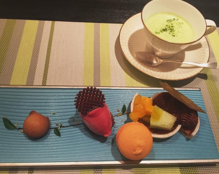 章月グランドホテルのお食事、デザート