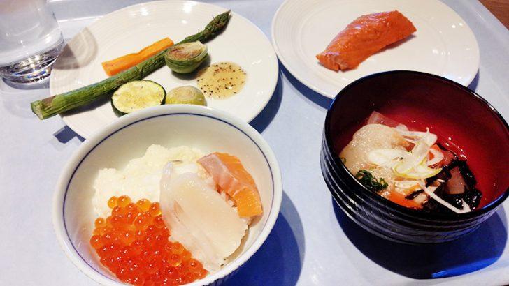 HAKODATE海峡の風の朝食ビュッフェ。北海道自慢の新鮮な海鮮を好きなだけどんぶりに!
