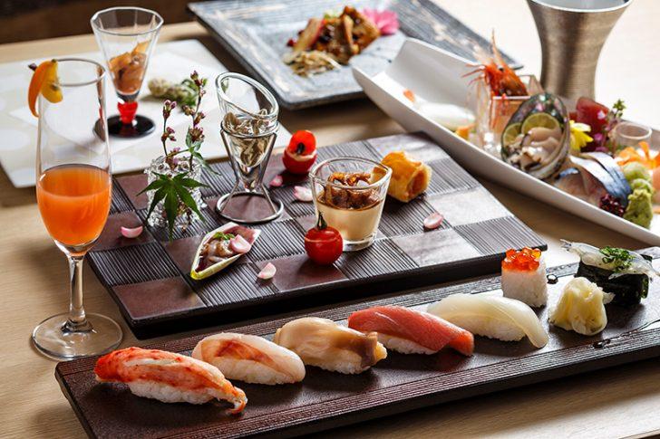 HAKODATE海峡の風。津軽海峡の海鮮をお造りや握りで楽しめる「Blue Seasons」Wine&Sushi会席