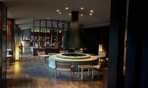 章月グランドホテルのラウンジ