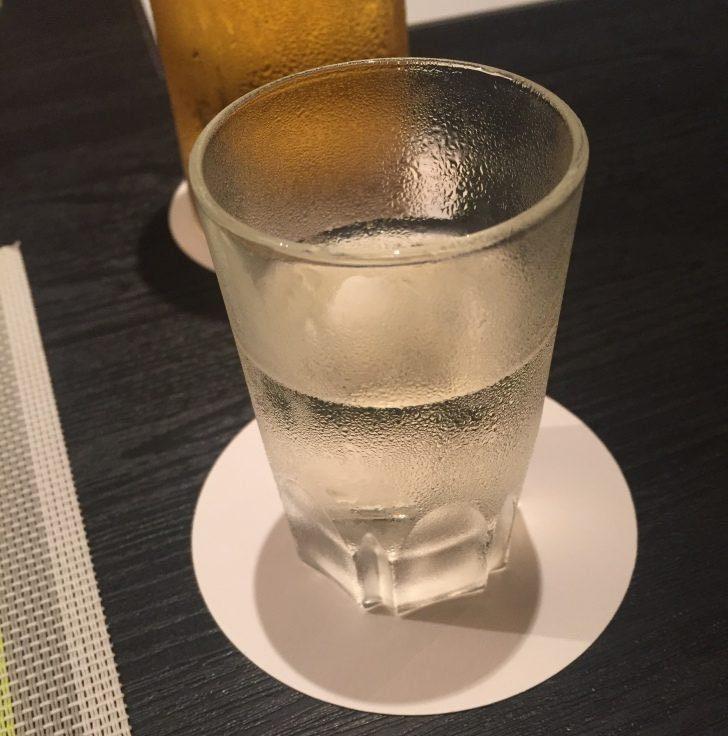 章月グランドホテルのお食事、日本酒