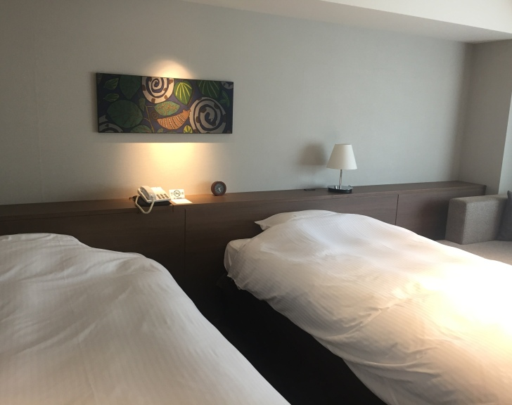 章月グランドホテルのツインルーム