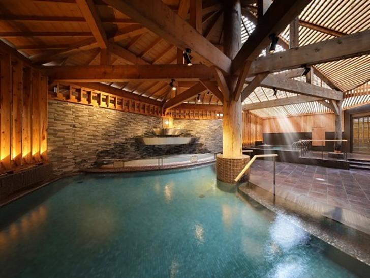ホテル万惣の大浴場