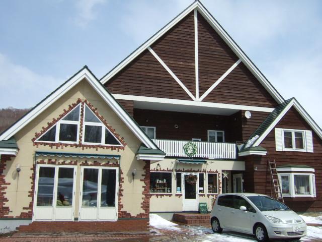 ニセコのカフェ、グラウビュンデン