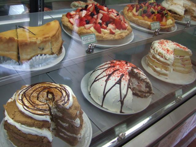 ジャンボサイズのケーキ