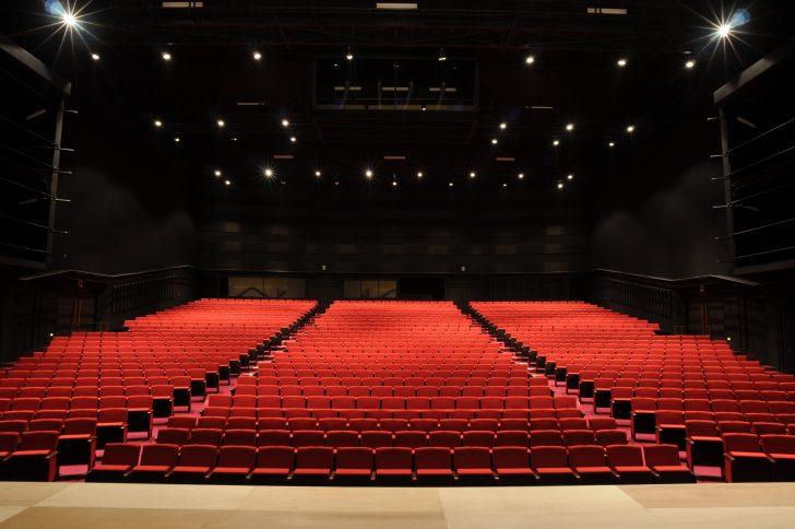 舞台からみた客席