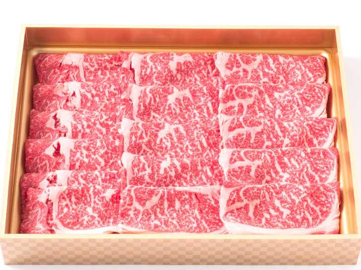 十勝鹿追産牛肉「とかち晴れ」 肩ロースすき焼き用