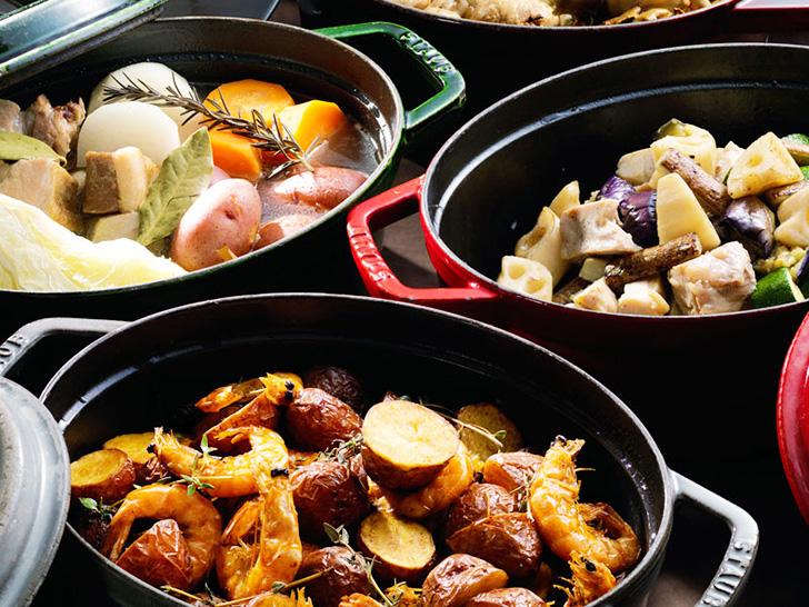 オーブン料理も人気の森の謌のビュッフェ