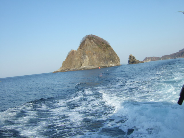 海上の絶景