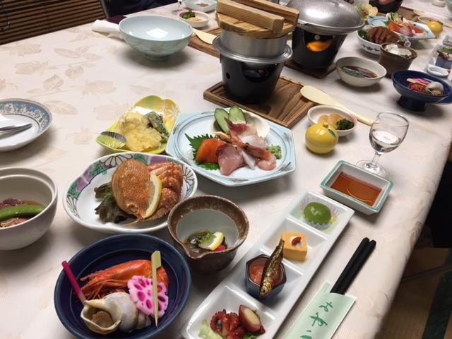 夕食の和食膳