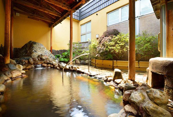 ホテル大平原の新露天風呂
